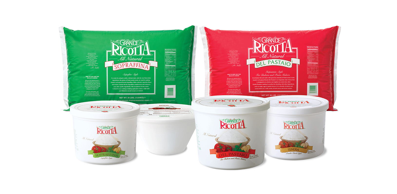 Ricotta Cheese Family Image