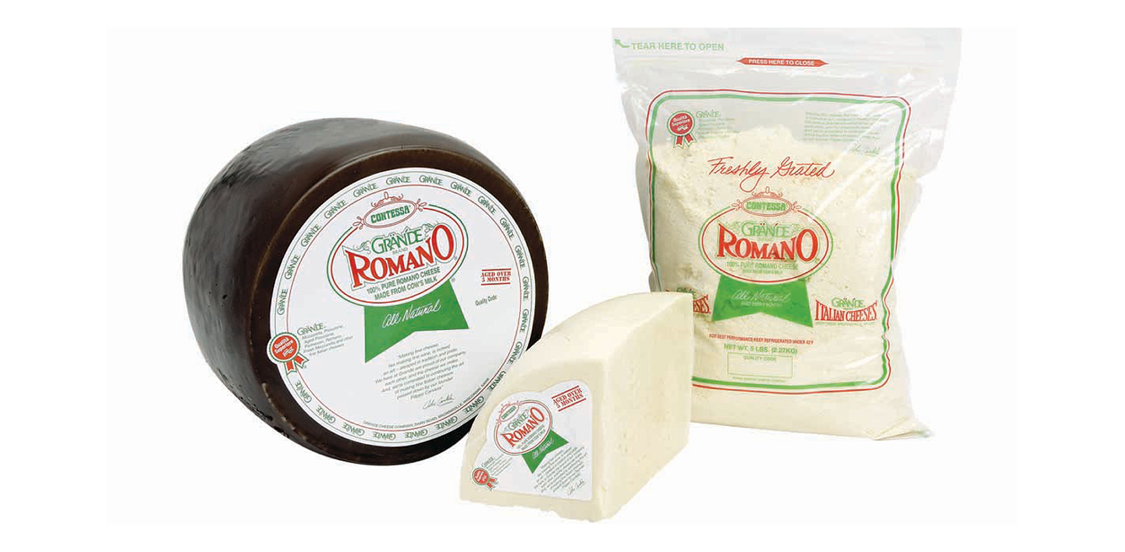 Romano Cheese Family Image